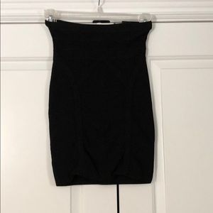 Bebe Black bandage skirt